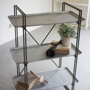 3 Tiered Metal Shelving Unit