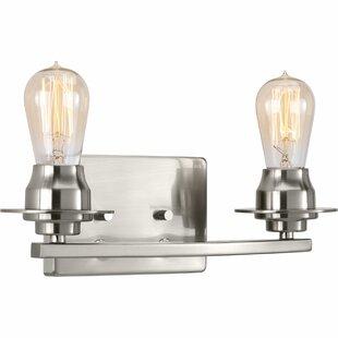 Williston Forge Miesha 2-Light Vanity Light