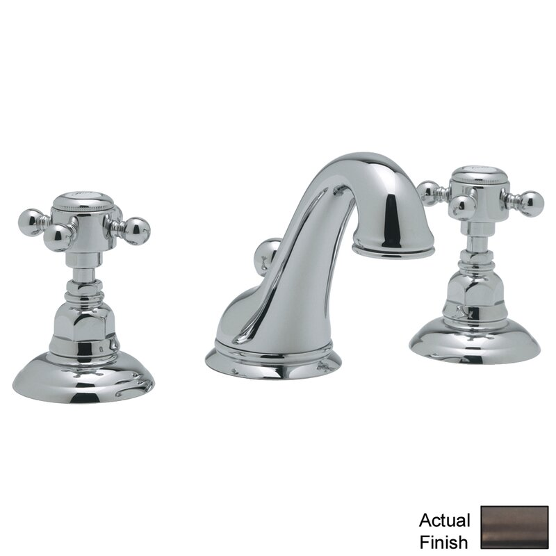 Rohl A1408XM 2 Country Bath Low Lead Widespread Bathroom Faucet With Pop Up  Drain