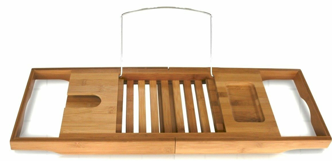 Langley Street Beringer Bamboo Bath Caddy & Reviews | Wayfair