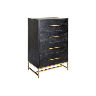 Beckey Wood 4 Drawer Accent Chest by Ivy Bronx