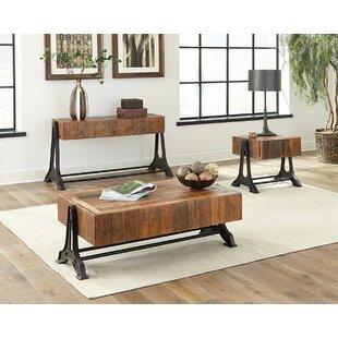 Gracie Oaks Steinbach 3 Piece Coffee Table Set