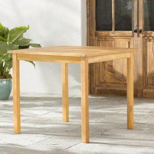 Beachcrest Home Joaquin Patio Table