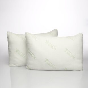 Savings Essence of Bamboo Down Alternative Pillow (Set of 2) ByPegasus Home Fashions