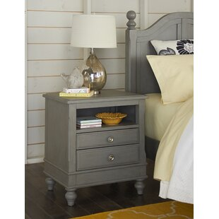 Check Prices Nickelsville 2 Drawer Nightstand by Three Posts Reviews (2019) & Buyer's Guide