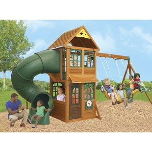 Cloverdale Wooden Swing Set