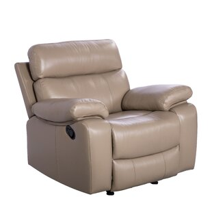 Mellor Leather Manual Recliner
