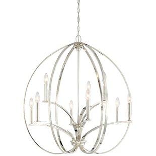 Latitude Run Breezewood 9-Light Globe Chandelier