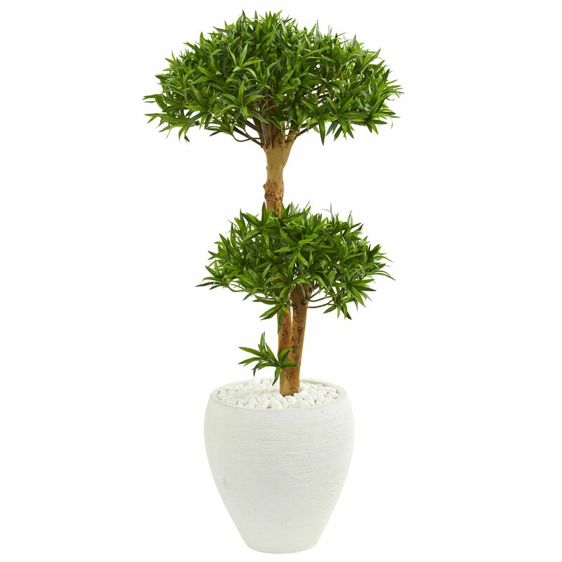 World Menagerie 24 Artificial Bonsai Tree In Pot