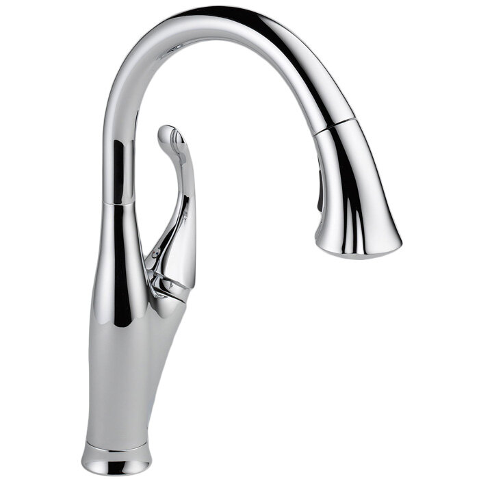 Beau Delta Addison Pull Down Single Handle Kitchen Faucet With Diamond Seal  Technology And MagnaTite® Docking U0026 Reviews | Wayfair