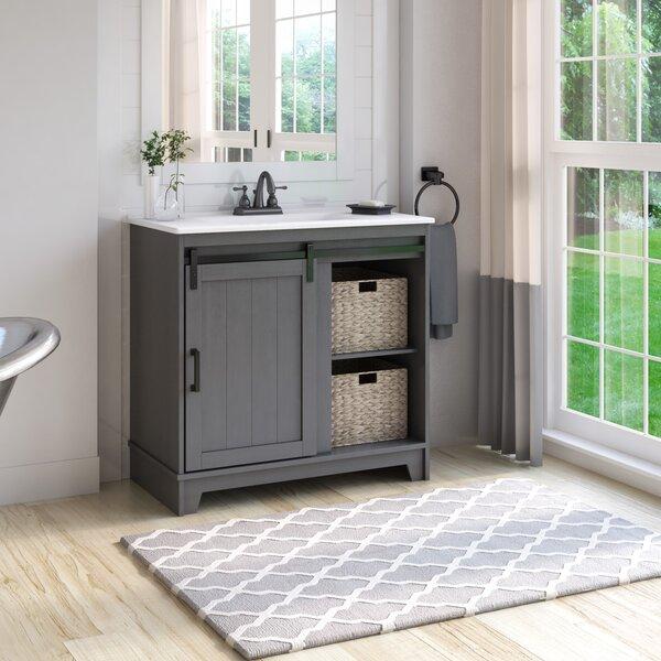 Barn Door Bathroom Vanity Wayfair