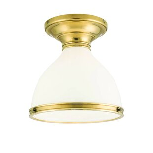 Darby Home Co Ekstrom 1-Light Semi Flush Mount
