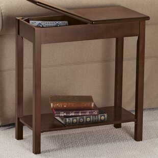 Storage Chairside Table