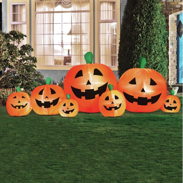 Pumpkin Patch Inflatable Wayfair