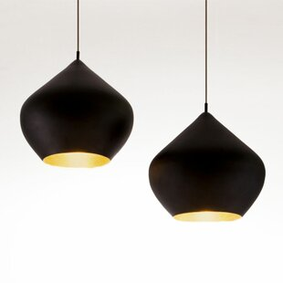 Dollison 1-Light LED Teardrop Pendant by Brayden Studio
