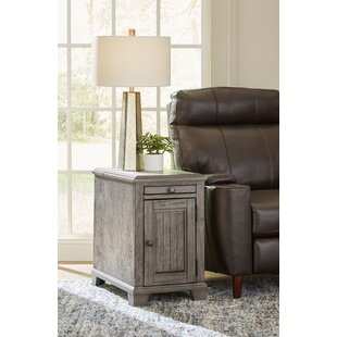 Kuzey End Table with Storage by August Grove