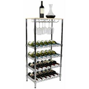 5 Tier Wine 48 H X 24 W Shelving Unit