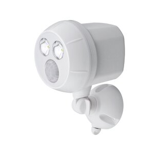 Mr. Beams Ultra Bright LED Battery Operated Outdoor Security Spot Light with Motion Sensor