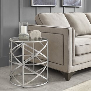 Borunda End Table by Willa Arlo Interiors