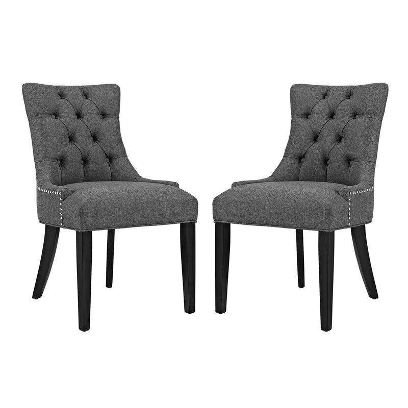 Rosdorf Park Burnett Dining Side Chair (Set of 2)