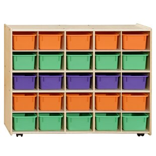 Order Contender 25 Compartment Cubby with Trays ByWood Designs