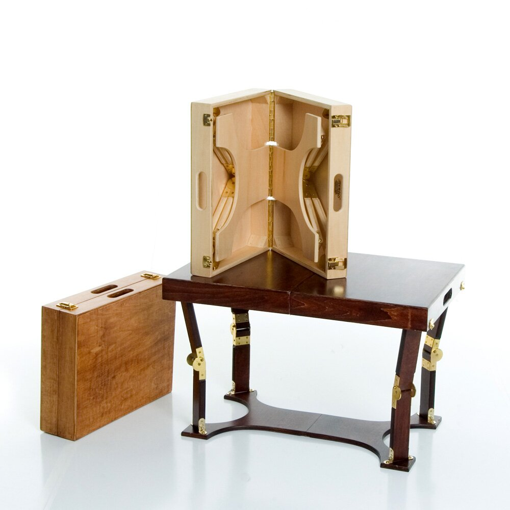 Spiderlegs portable folding coffee table reviews wayfair - Folding glass coffee table ...