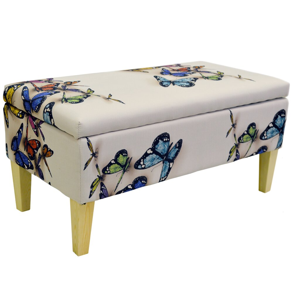 Giselle Storage Ottoman - House Additions Giselle Storage Ottoman & Reviews Wayfair.co.uk
