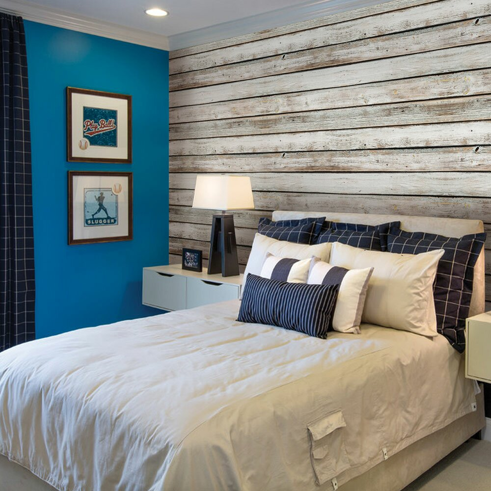 Simpleshapes Vintage 24 X 4 Quot Wood Panels Wallpaper Roll