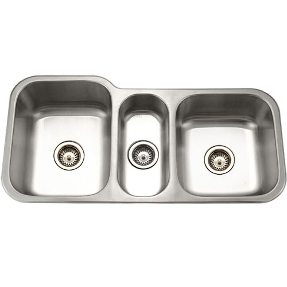 medallion gourmet 3981 x 1794 2019 undermount triple bowl kitchen sink - Bowl Kitchen Sink