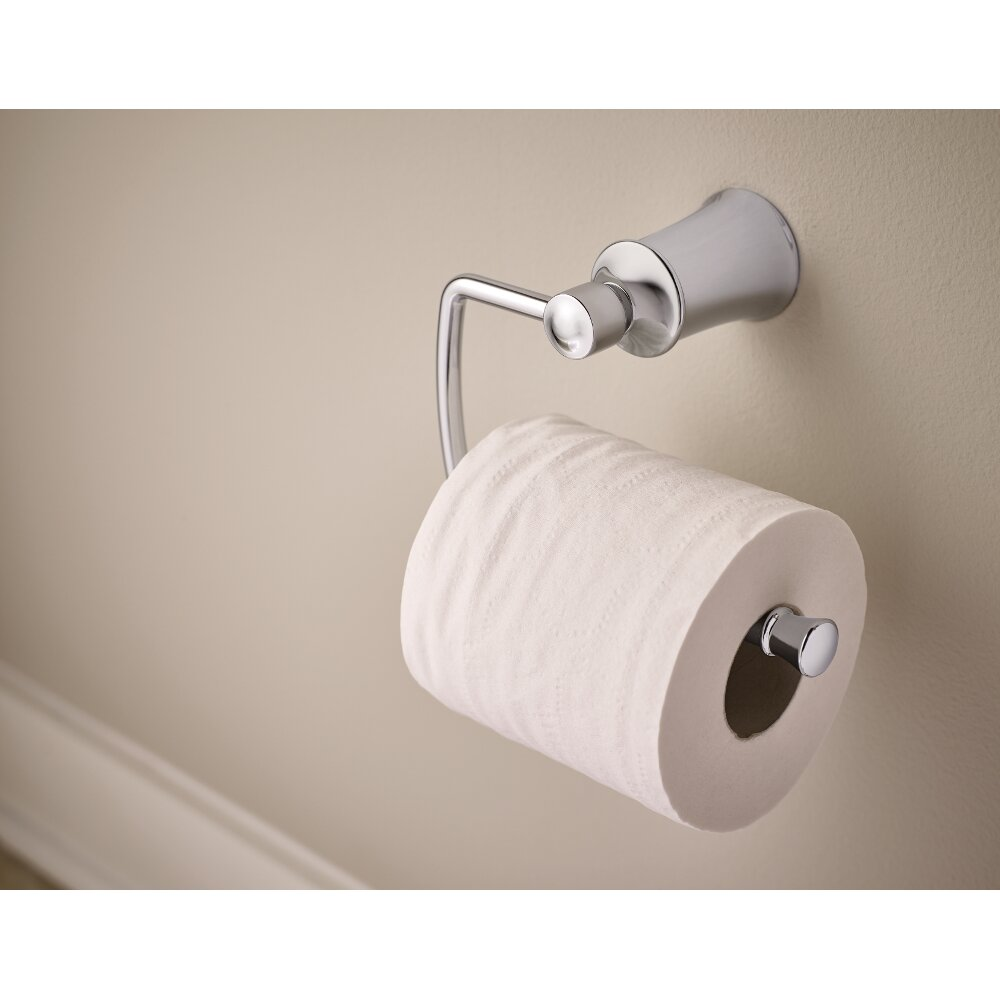 Wall Mounted Toilet Paper Holder dartmoor wall mount toilet paper holder & reviews | allmodern