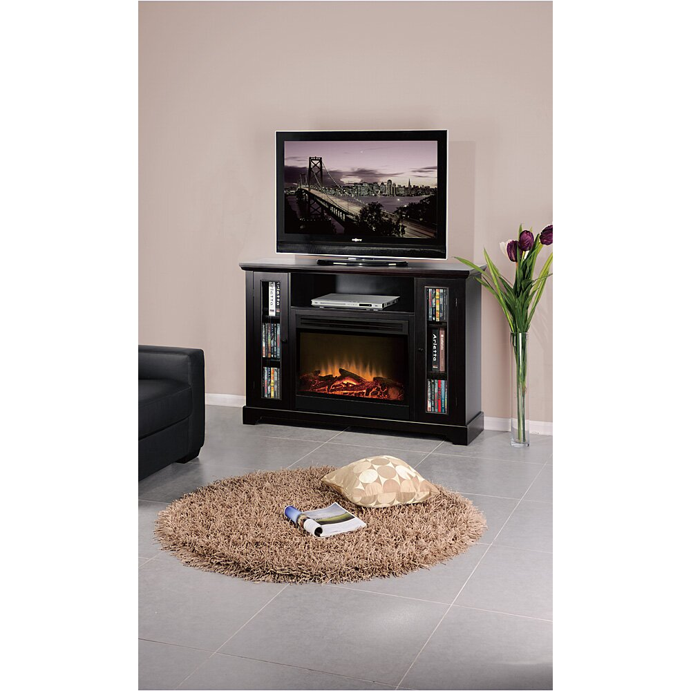 American Furniture Classics 55 Tv Stand With Electric Fireplace