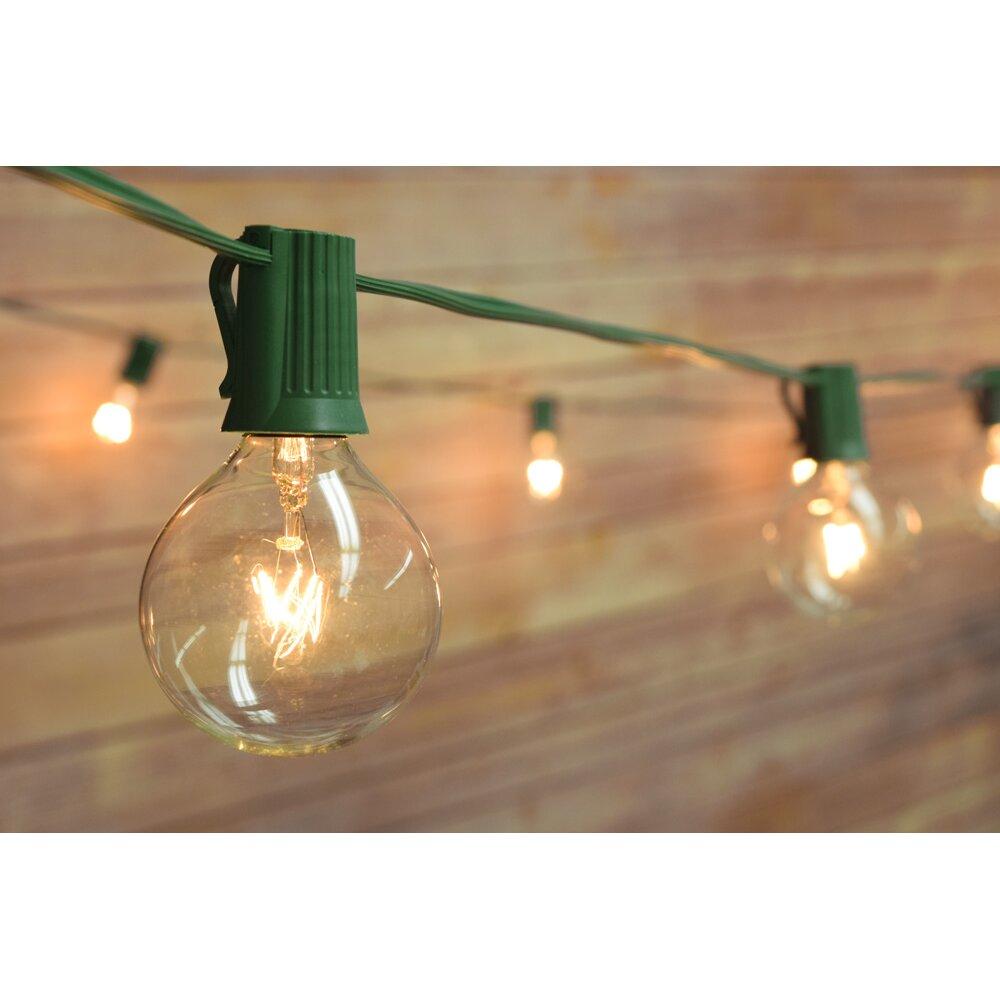 ThePaperLanternStore 25-Light 28 ft. Globe String Lights & Reviews Wayfair.ca