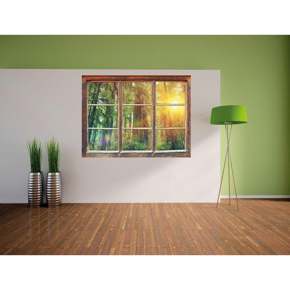 home loft concept wandtattoo wald bei sonnenlicht. Black Bedroom Furniture Sets. Home Design Ideas