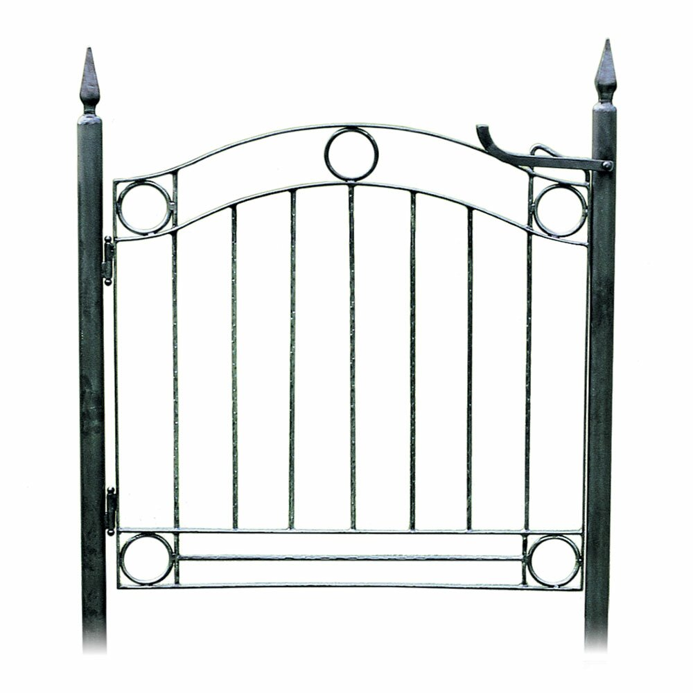 Wrought iron garden gate - Country Cottage Wrought Iron Garden Gate
