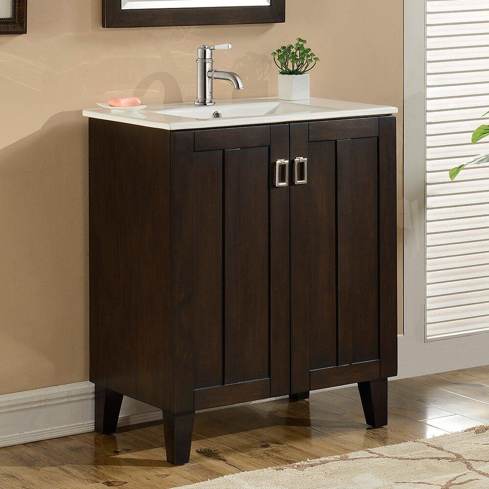 "Zipcode™ Design Lehigh 30"" Single Sink Bathroom Vanity Set ..."