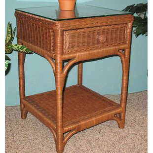 Diamond 1 Drawer Nightstand by Wicker Warehouse