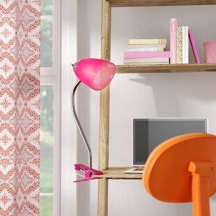 Zoomie Kids Saige Clip Desk Lamp