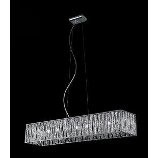 Orren Ellis Kadyn 9-Light Crystal Chandelier