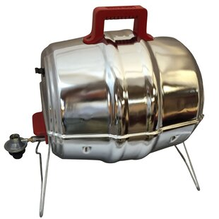 1-Burner Propane Gas Grill With Smoker By Keg-a-Que