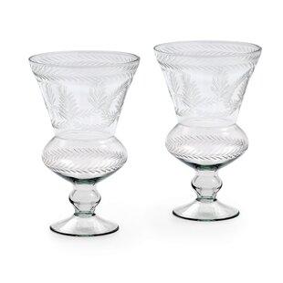 Glass Hurricane (Set of 2)