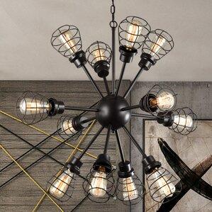 Edison Light Chandelier   Wayfair