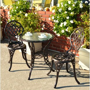 Astoria Grand Parkton 3 Piece Bistro Set
