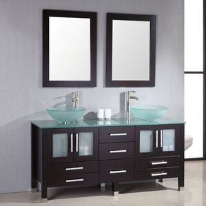 Bathroom Vanities Tucson 28 inch wood vanity | wayfair