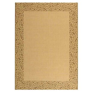Lippold Brown/Tan Indoor/Outdoor Area Rug