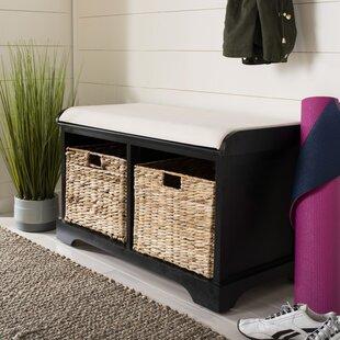 Trent Austin Design Alonza Pine Wood Storage Bench