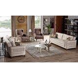 Boren 4 Piece Sleeper Living Room Set by Corrigan Studio®