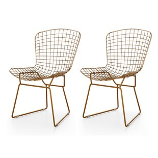 Meelano M38 Wire Side Chair (Set of 2)