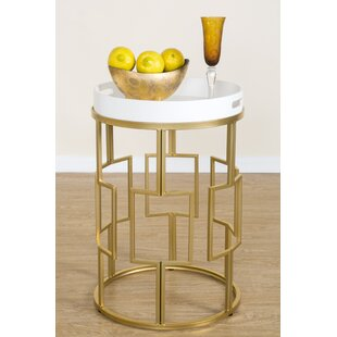 Roxanne End Table by Statements by J