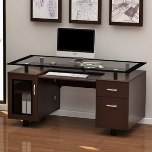 Robichaud Executive Desk by Red Barrel Studio