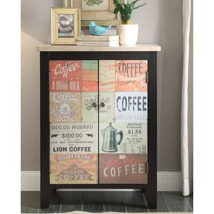 Hayes Coffee Sign 2 Door Accent Cabinet by Red Barrel Studio